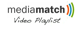 media match video playlist logo
